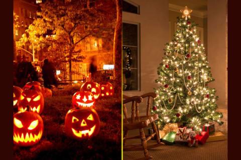 Halloween And Christmas.Are You Christmas Or Halloween