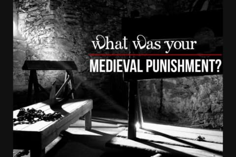What Was Your Medieval Punishment?
