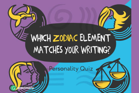 Can We Guess Your Zodiac Element Based On Your Writing Habits Quiz