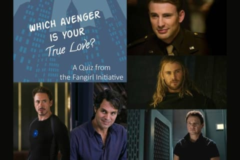 Which Avengers Man Is Your True Love?