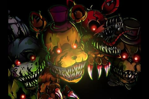 Which FNAF 4 animatronic are you?