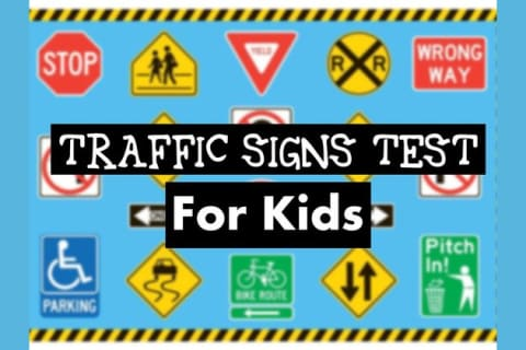 Road Signs Quiz >> Can You Pass This Traffic Signs Test Meant For Kids