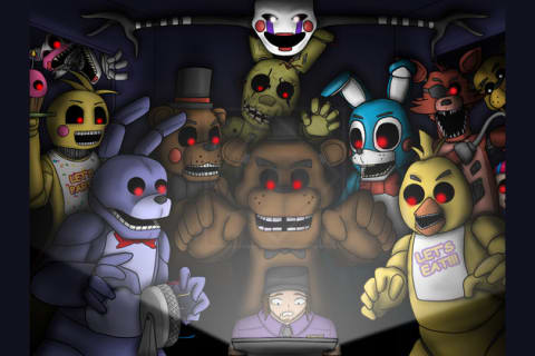 Which FNAF Character Are You???