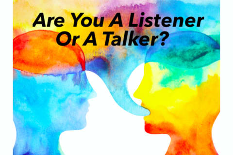 Are you a listener or a talker? And more importantly: can you be both? (image credit: Playbuzz)