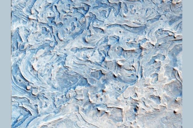 Esta región es una llanura que se encuentra 2 grados al sur del ecuador de Marte.