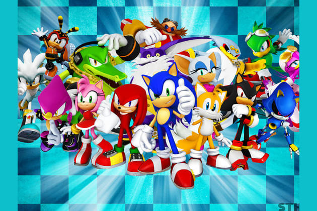 which sonic character is your love match