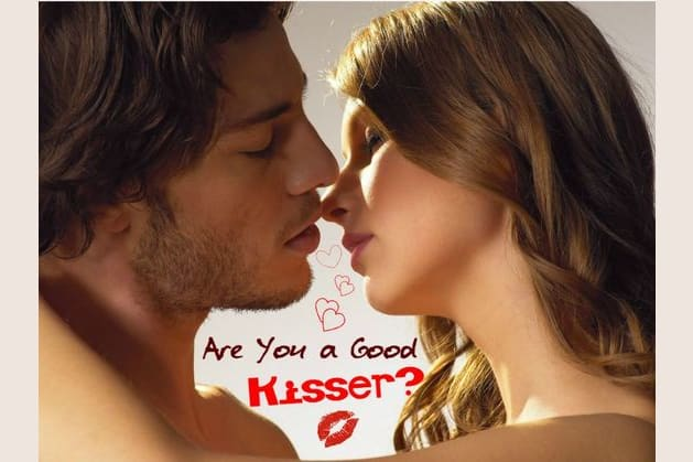 how to tell if you are a good kisser