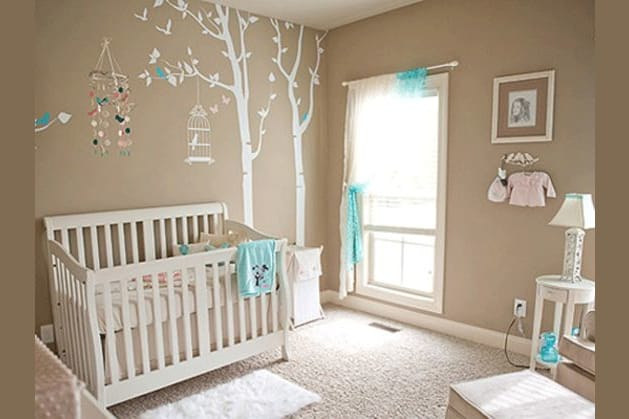 Because Decorating The Nursery Is Half Fun