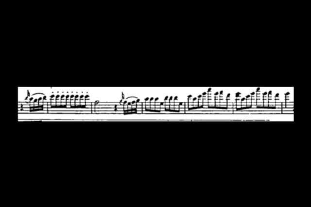 Can you name a piece just from looking at the music