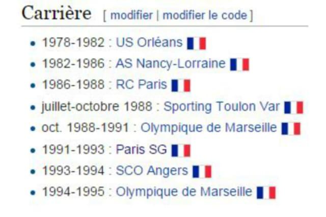 Wiki qui spécial PSG OM : quel joueur a eu cette carrière ?