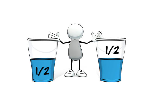 Image result for glass half full or half empty