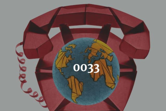 internationale vorwahl 0033