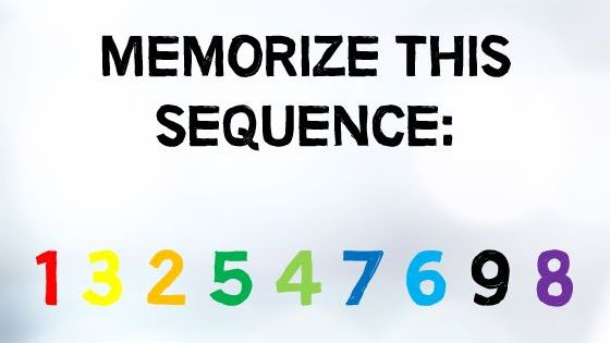 Do you have colorful memory?