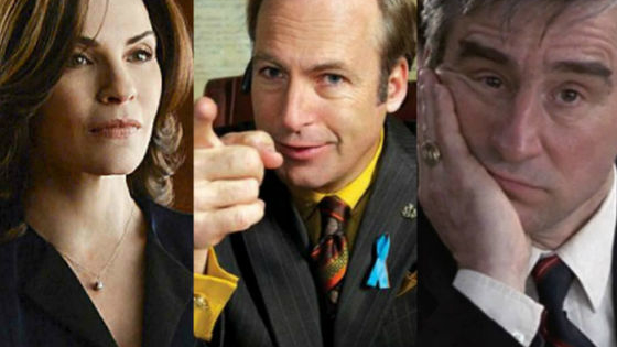 Discover which television attorney is your soulmate.