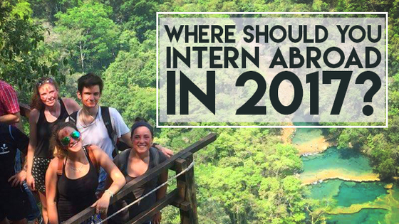Interning will reward you with an increased skill set and experience within a field, so why not intern abroad?