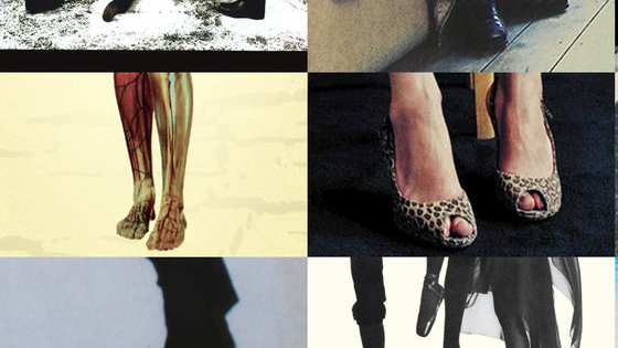 Can you place where these famous feet are snipped from? See if they ring any bells…