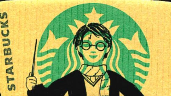 If only Hogwarts had magical Starbucks baristas...