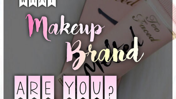 Ever wondered what brand of makeup suits you the best? Take this quiz!🦄