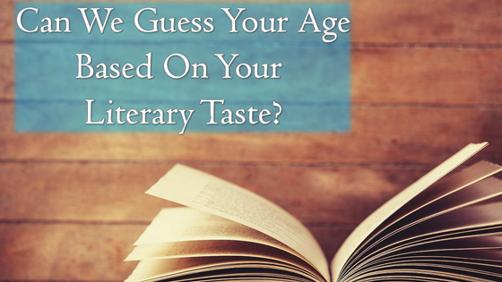 Your reading habits say a lot about you....