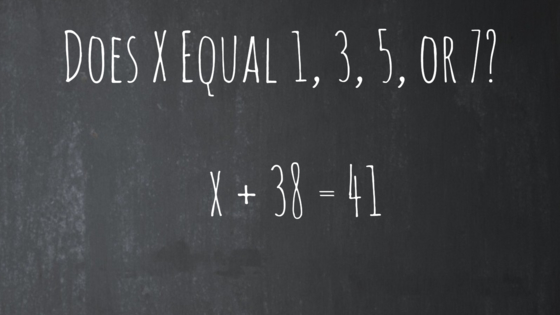 Get ready for a seriously odd math quiz! Tell us whether X equals 1, 3, 5, or 7, and find your mathematical potential here!