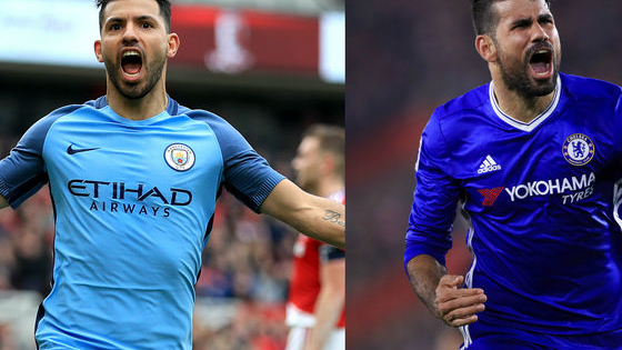 Can you tell these two world-class strikers apart?