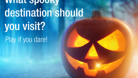 Enter tripcentral.ca's Halloween quiz to find out what spooky destination you should visit for a Halloween vacation. Play if you dare!