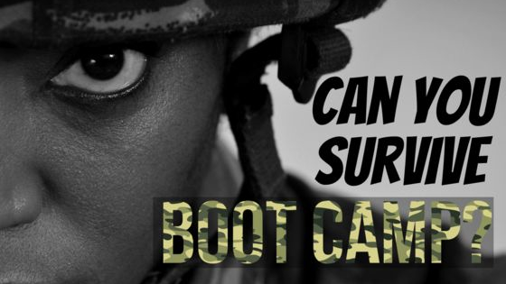 Take this mock-exam and see if you possess the mental-toughness to make it through U.S. Army Boot Camp!