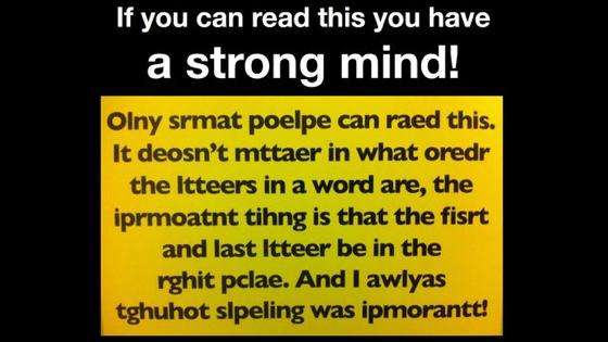 Can you pass the ultimate reading test?? Find out your genius status now!