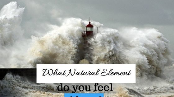 We are always changing like the weather, the wind and the fire but what are you feeling right now? What natural element transmits your internal state of mind?