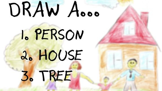 Draw a person, a house and a tree and discover who you really are!