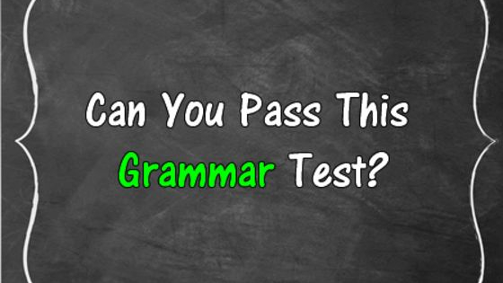 How good is your English? Do you ever misspell a word or forget your correct grammar? Do you think you can pass this test with a perfect score? Are you true English speaker? There's only way to find out, let's play!  For more knowledge based quizzes, go to www.moneyprobs.com & like us on facebook www.facebook.com/moneyprobs for more awesome quizzes that will brighten your day!