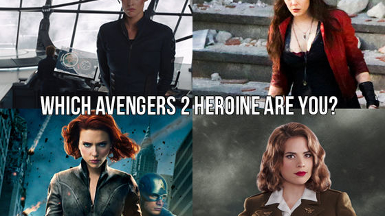 The Avengers sequel, Age Of Ultron releases in just a week! Get ready with us by taking this quiz to find out which powerful Avengers gal you are!