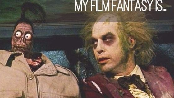We all know how much you love your films, but which film specifically lives out a little secret fantasy of yours.