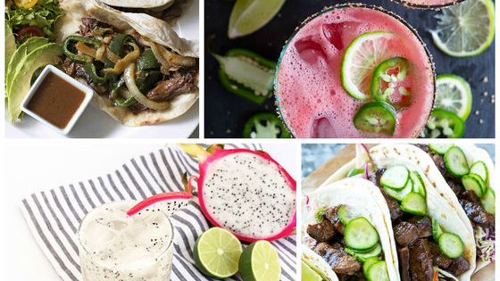 There's nothing that goes better together than tacos and margaritas, but if you plus up your taco menu here, we'll give you an elevated margarita recipe to go with it!