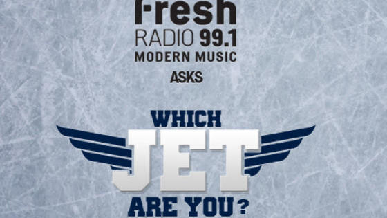 99.1 Fresh Radio wants to know...which Winnipeg Jet are you?