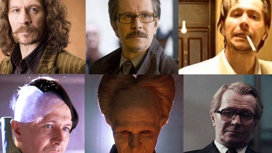Gary Oldman is like a chameleon in his different roles. Which one do you share the most in common with?