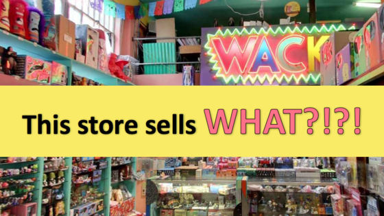 Did you know these 10 unusual shops existed?