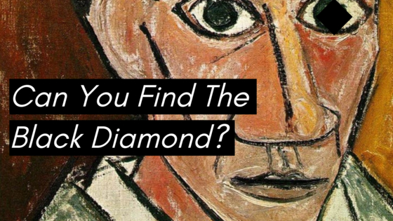 If you can find the black diamond we hid in each of these Cubist masterpieces, you probably have perfect vision and a great eye for art! Test yourself here!