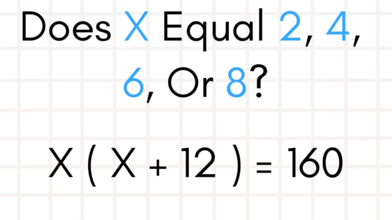 The answers are 2, 4, 6, or 8, but do you have what it takes to figure out which solves each problem? Test yourself here!