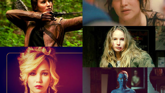 Which J-Law character will you get? May the odds be ever in your favor!