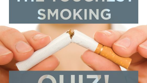 How well do you actually know your smoking habit? Take the quiz. You won't believe these 5 astonishing facts about smoking.