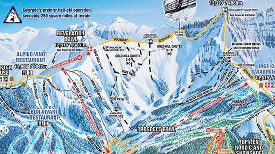 Can You Name These Ski Resorts From Just Part Of Their Trail Map?