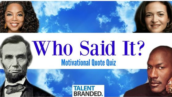 Are you a motivational quote junkie?  Find out here!