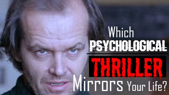 Which of these dark and twisted films are you the star of?