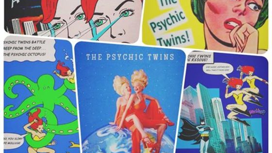 Terry and Linda Jamison: The Psychic Twins are known worldwide as the most documented psychics in history. BUT they are also accomplished artist, actresses and comedians. Find out which of their original characters match your personality.