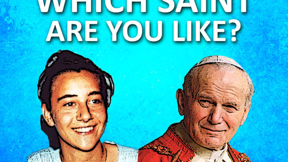 Ever wondered if there was a saint like you? Looking for a patron saint for your Confirmation? Looking to procrastinate and put off what you should be doing with something rather interesting and certainly more so than your present homework? Have a look and see who you're like!