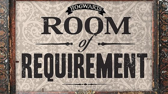 When you walk through the door of the Room of Requirement, what will be waiting for you on the other side? Answer these questions about Hogwarts School of Witchcraft and Wizardry, and we'll tell you!