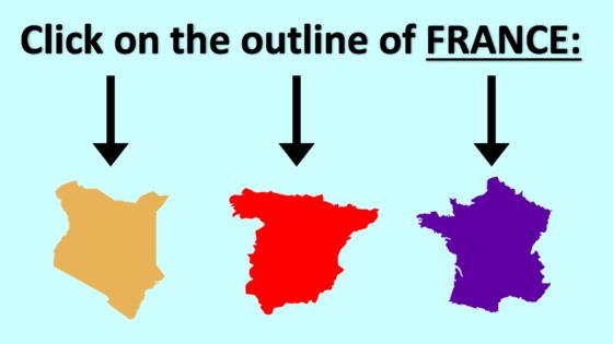 快来证明你是一个地理天才!仅仅根据每个国家的地图轮廓,就能正确说出这些国家的名字!