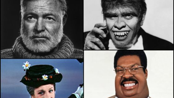 Are you a Mary Poppins, Nutty Professor, Hemingway, or maybe something entirely different?   for more insights, head over to http://theatln.tc/1SEtLii