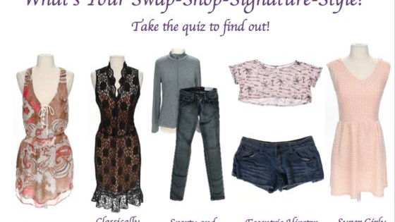 Is your style boho-chic, classically flawless, sporty and sophisticated, eccentric hipster, or super girly? Take Swap.com's fashion quiz to find out!